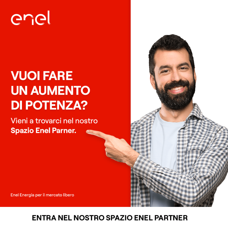 Nel nostro Spazio Enel Partner puoi fare questo e molto altro: vieni a trovarci in negozio per scoprire di più. Ti aspettiamo!