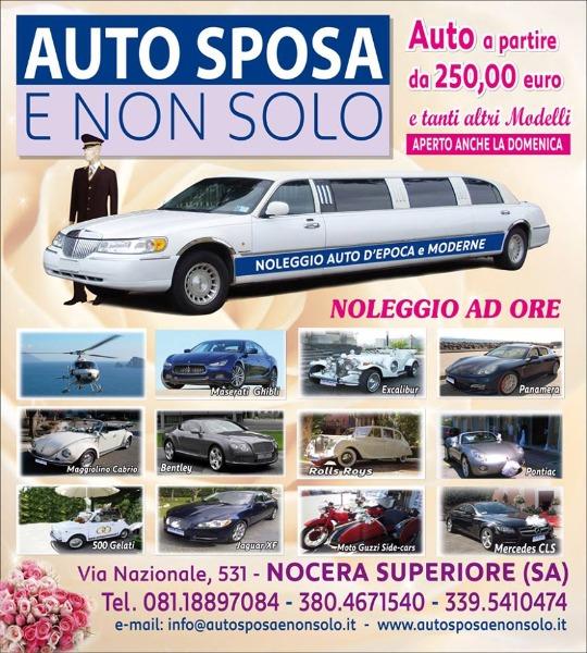 Noleggio Auto d'Epoca e Moderne a partire da 250 €