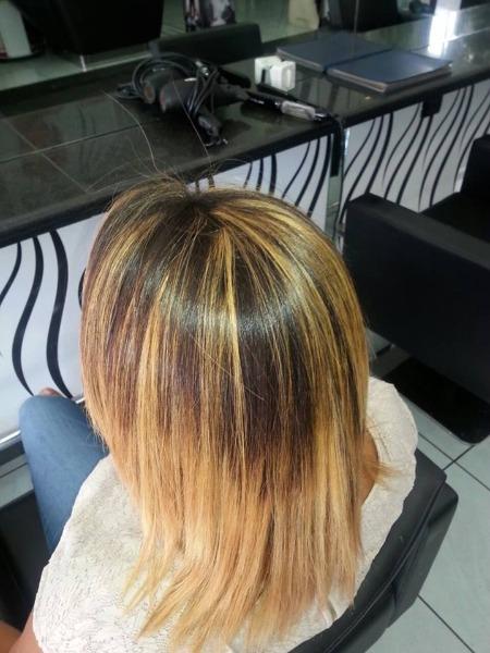 Botox su capelli afro decolorati