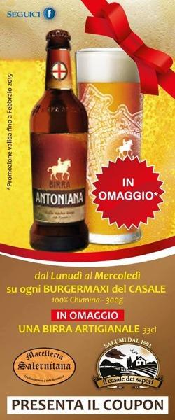 Coupon Birra Omaggio