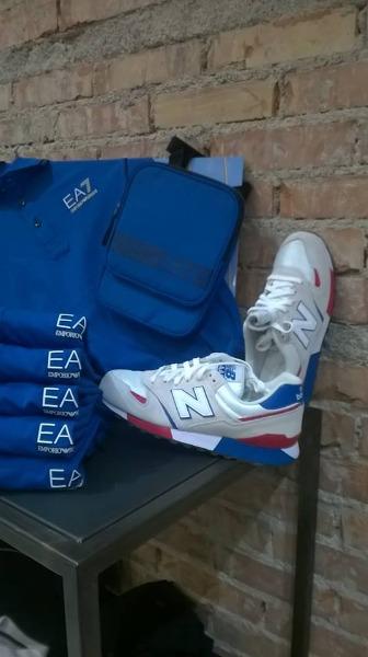 Nuovi Arrivi New Balance - EA7 - Blauer