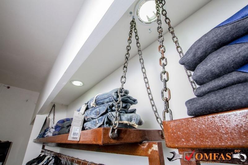 Arredamento Negozio Ferro-Corten