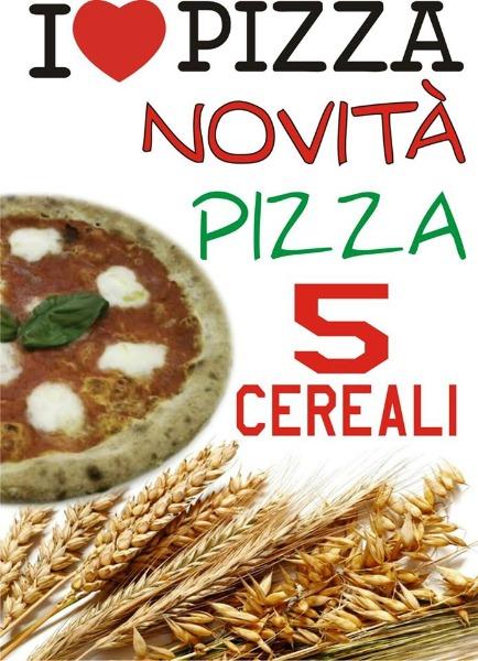 Pizza ai 5 Cereali