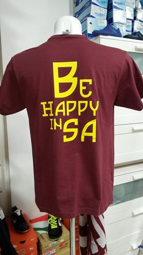 TShirt  Be Happy in SA