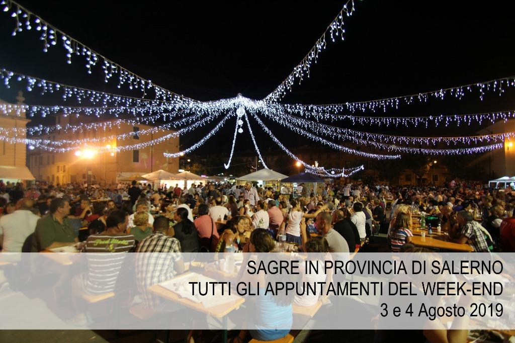Sagre in provincia di Salerno: tutti gli appuntamenti nel week-end