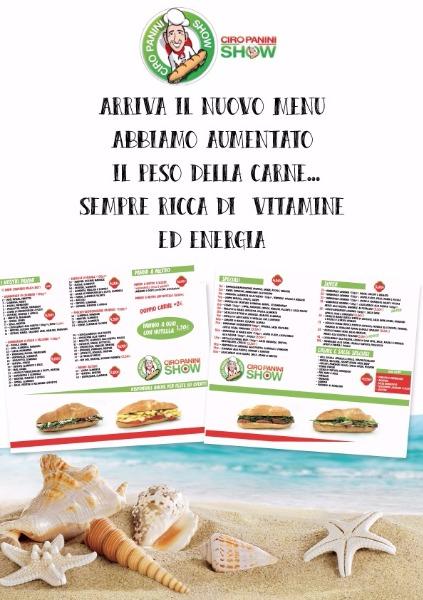 Arriva il nuovo menu... abbiamo aumentato il peso della carne... sempre ricca di vitamine ed energia