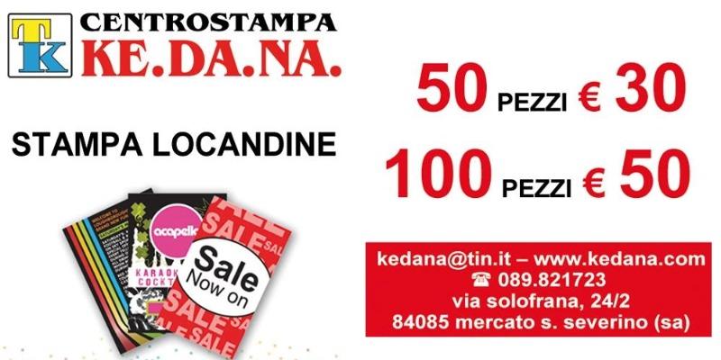 Offerta Stampa Locandine