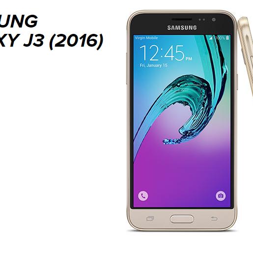 Samsung J3 2016 Bianco/Nero/Oro 119,99€