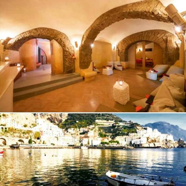 Fascino della Costa d'Amalfi & Relax in Otiumspa. Di più non si può. Benvenuti in Paradiso