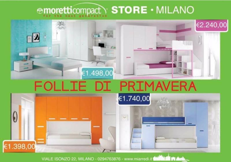 Camerette Moretti Compact - Scopri le nuove composizioni 2016