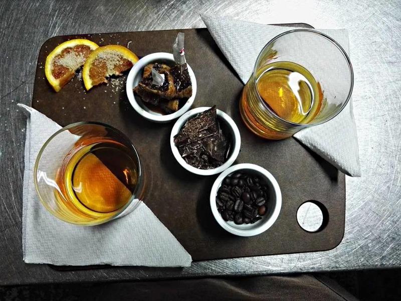 Non solo 'Rhum'... ma fichi, cioccolato fondente, arancia con zucchero di canna e chicchi di caffè