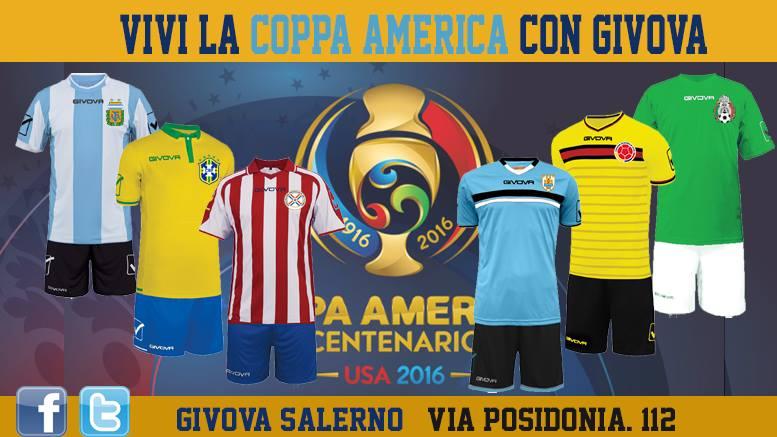 Vivi la Coppa America con Givova