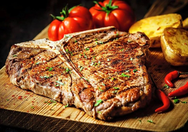 O amate la carne....o ve ne innamorerete... all'Hostaria Botero