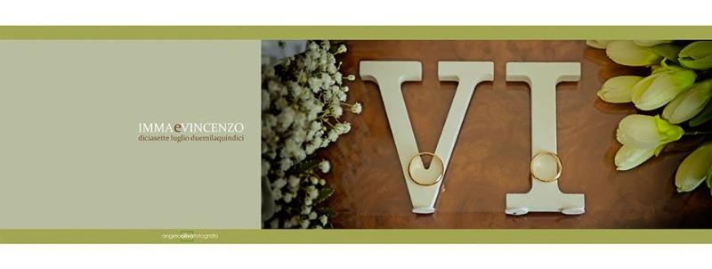 Fotolibro impaginato del matrimonio di Emma e Vincenzo