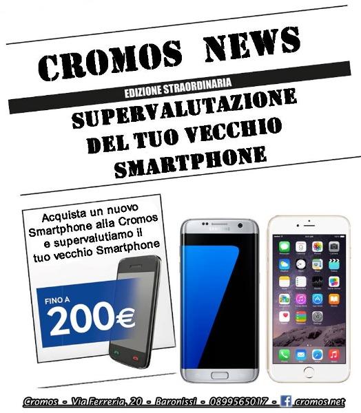 Supervalutazione del tuo vecchio smartphone fino a 200 €