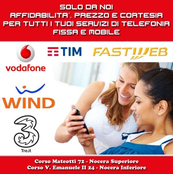 Solo da noi affidabilità, prezzo e cortesia per tutti i tuoi servizi di telefonia fissa e mobile