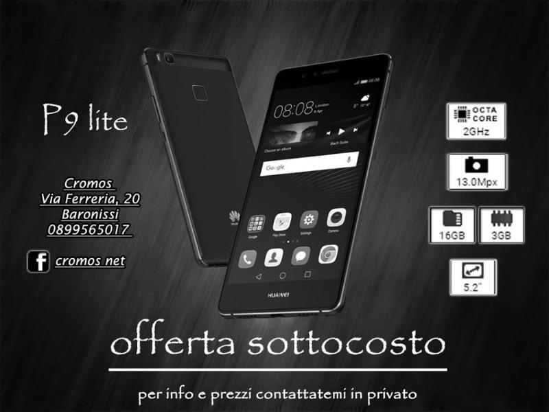 Huawei P9 Lite offerta sottocosto