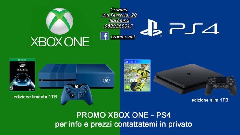 Promo XBOX ONE e PS4