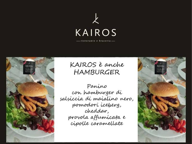 Kairos è anche HAMBURGER