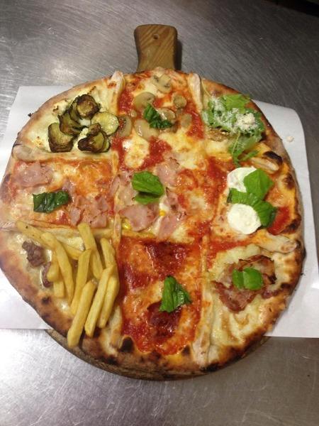 Pizza 'La Carcerata'