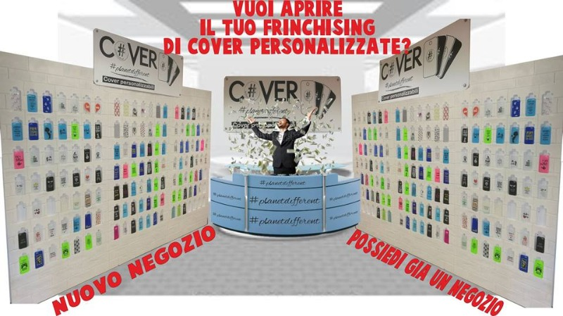 Vuoi aprire il tuo franchising di Cover Personalizzate?