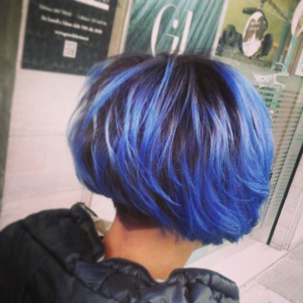 Blu Hair firmato Gerardo Luciano