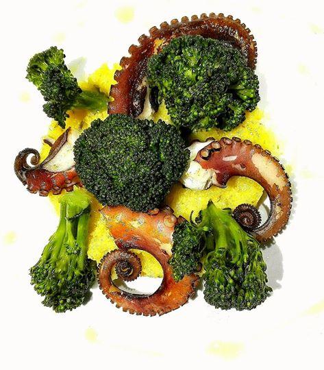 U purp!!!  Polenta..broccoletti e tanto altro...