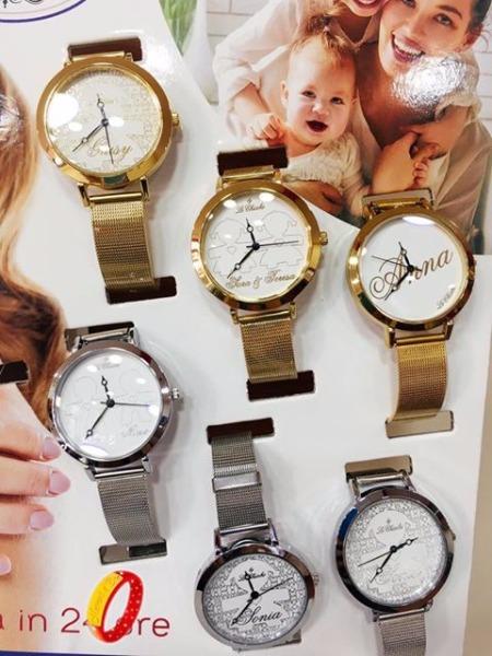 Personalizza il tuo orologio firmato le chicche