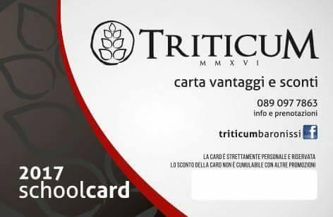 TriticuM MMXVI Schoolcard