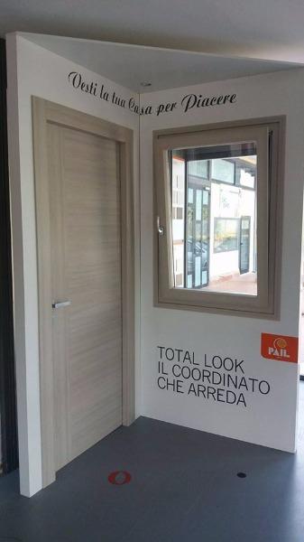 Total Look, Infisso in legno-alluminio