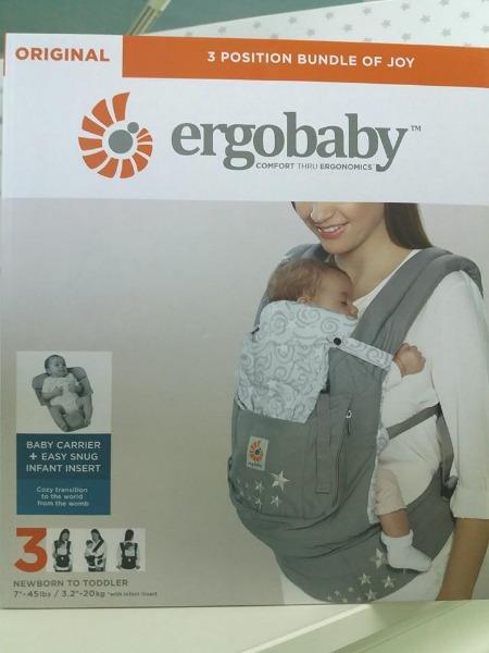 Marsupio Ergobaby, il comfort tramite l'ergonomia