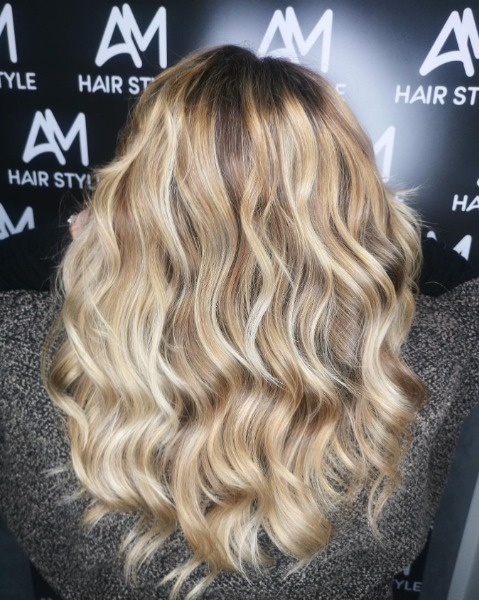 Super blonde hair!