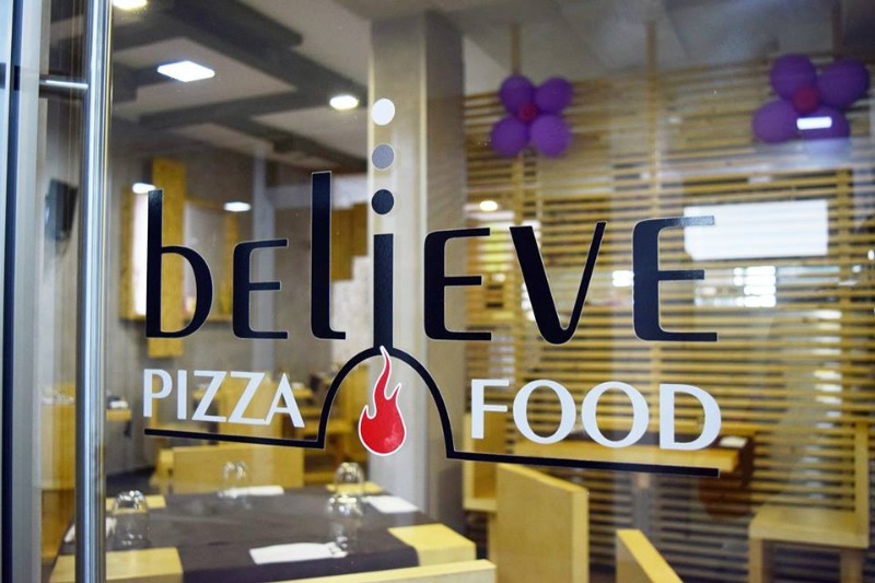 Believe Pizza Food