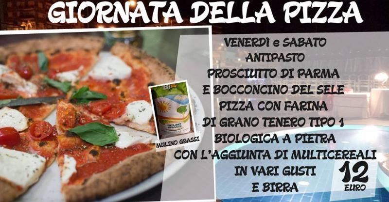 Venerdì e Sabato Giornata della Pizza