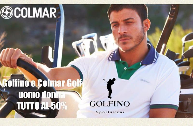 Golfino e Colmar Golf uomo donna. TUTTO AL 50%