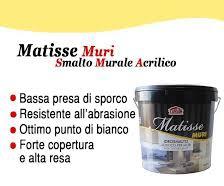 Matisse atossico x ambienti o strutture ricettive per uso  alimentari  14 lt. 130€