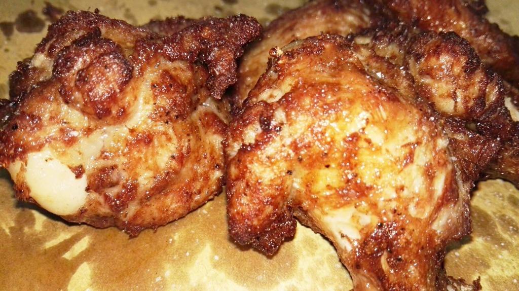 Volete assaggiare il nostro pollo?