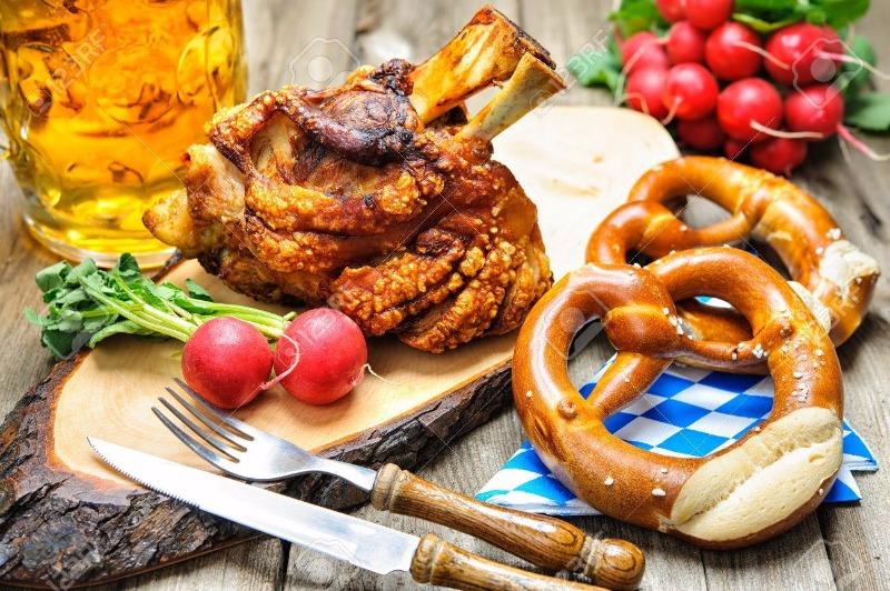 Stinco di maiale e bretzel.. questo e tanto altro per l'Oktoberfest