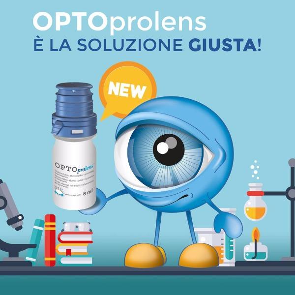 Hai problemi con le lenti a contatto? Prova OPTOprolens