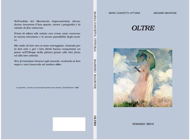 """""""Oltre"""", il libro scritto da Maria Concetta Vittoria e Massimo Magrone"""