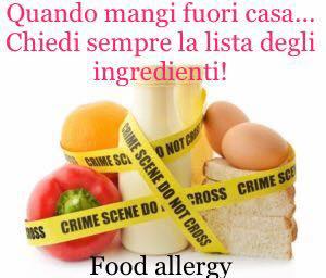 Allergie alimentari?
