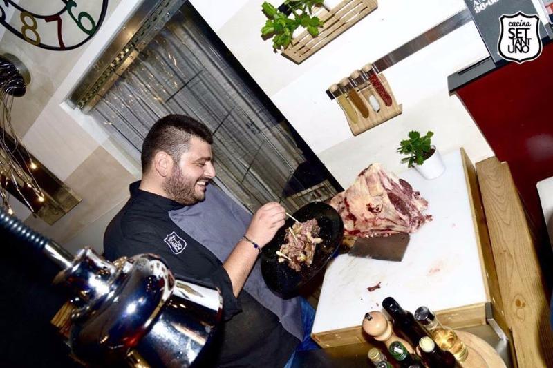 Il Nostro Chef a lavoro per deliziarvi
