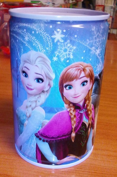 Salvadanaio Frozen