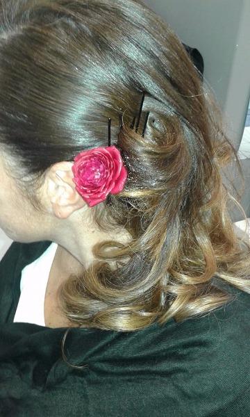 Un fiore tra i capelli