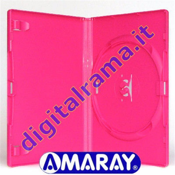 Custodie BOX CD/DVD AMARAY, qualità professionale