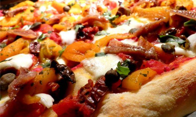 Baccalà sulla pizza