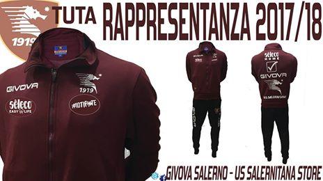 Tuta Rappresentanza Salernitana 2017/2018