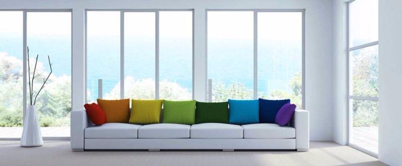 Infissi in PVC - BluEvolution 82 una tra le migliori tipologie di infissi per ottenere qualsiasi tipo di vantaggio termico , acustico ed estetico.