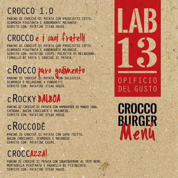 Vi presentiamo il nostro #CROCCOburger menù, disponibile da venerdì 17 novembre