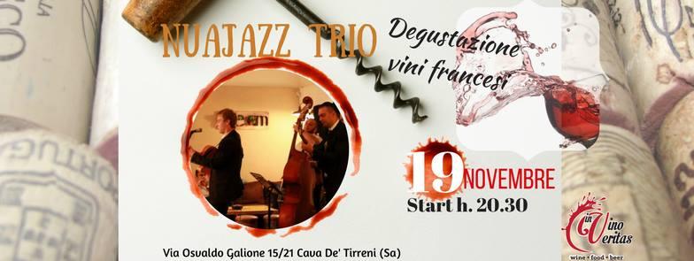 Domenica 19 novembre, Jazz manouche, bollicine e vini francesi